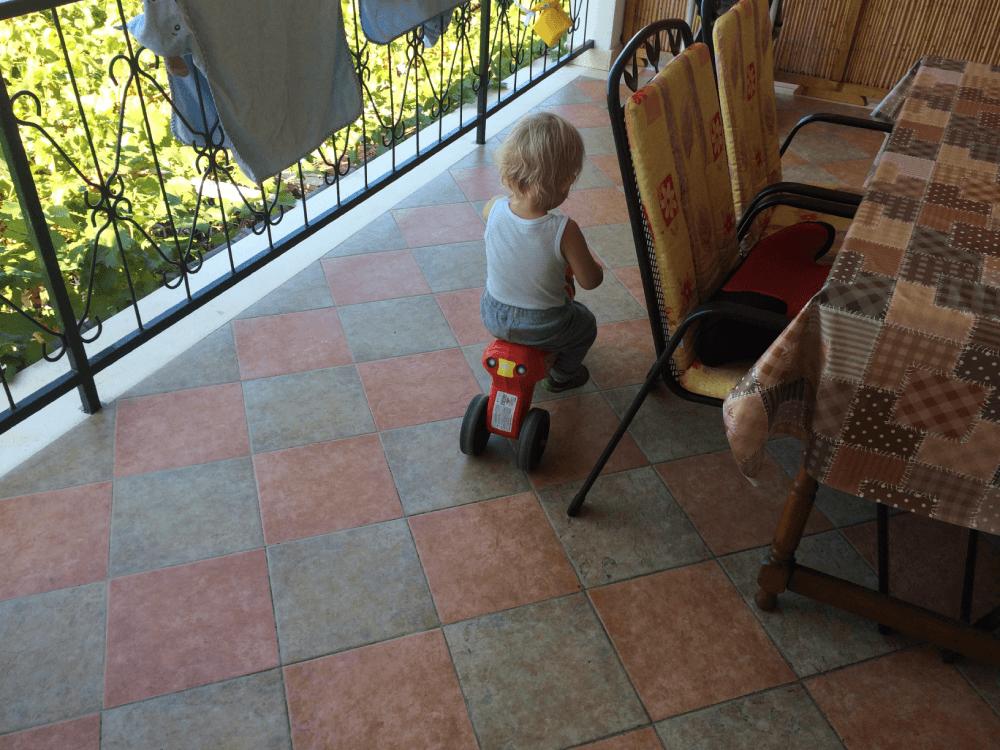 Jezdil jsem na motorce jako drak