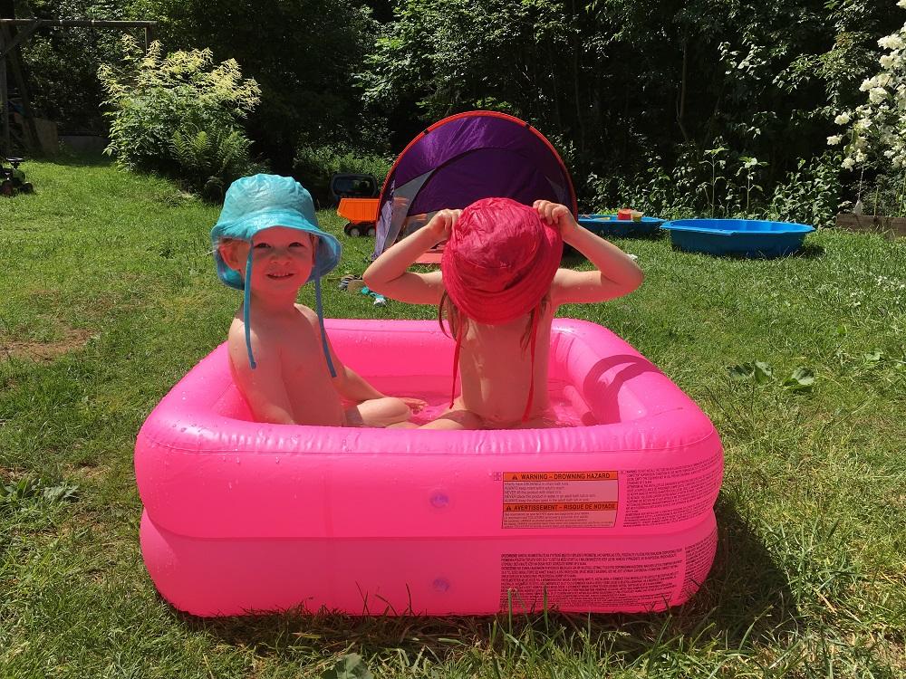 Privátní bazén, který si s sebou vozíme všude